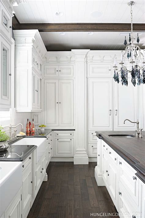 Clive Christian Kitchen Cabinets Refrigerator Transitional Kitchen Benjamin Simply White Hungeling Design