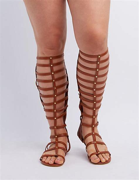 gladiator sandals for big calves wide width calf knee high gladiator sandals