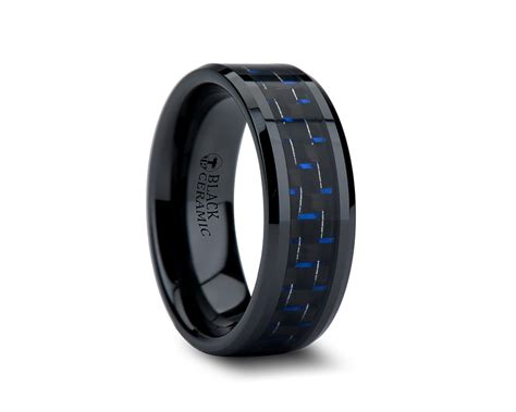 Wedding Bands Black by Mens Black And Blue Wedding Bands Images