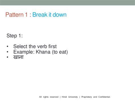 pattern language education language learning patterns