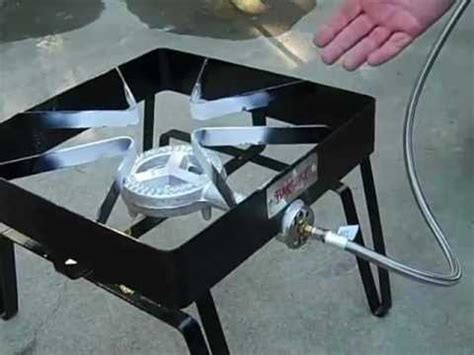 bayou classic square patio stove review youtube