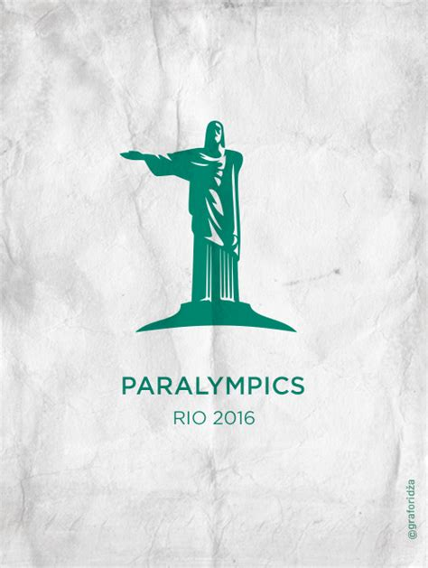 2016 paralympics poster paralympics posters logo a day