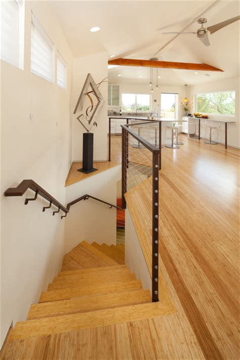 bamboo doors and floors contemporary staircase san