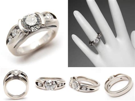 estate wide band wedding rings the wedding