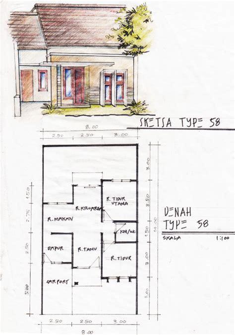 denah dan sketsa rumah minimalis 28 images gambar sketsa denah rumah sederhana denah dan