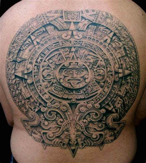 aztec calendar tattoos boondock saints tattoos