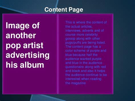 layout and design media studies media studies music magazine layout design