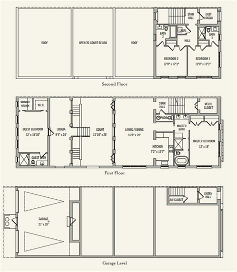 alys beach floor plans clermont courts townhomes alys beach fl