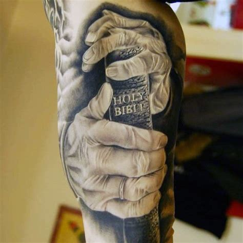 bible verse tattoo on hand 100 christian tattoos for men manly spiritual designs