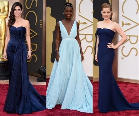 Oscar Trends To Inky Blue by Best Dress Trends From Oscars 2014