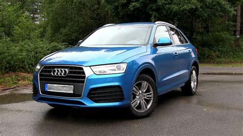 Audi Q3 Youtube by 2017 Audi Q3 2 0 Tfsi Quattro 180 Hp Test Drive Youtube