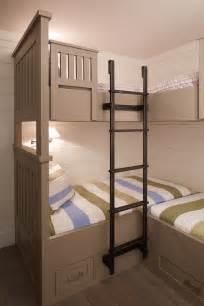 Bunk bed ladder cottage boy s room artistic designs for living