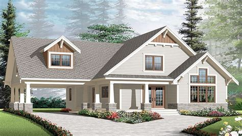craftsman house plans with carports craftsman bungalow