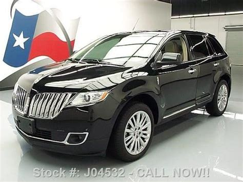 2011 lincoln mkx power sunroof manual operation 2011