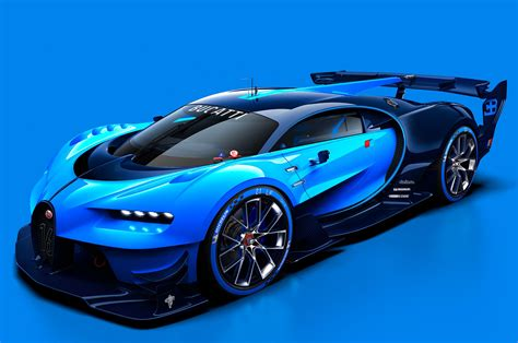 bugatti concept car bugatti vision gran turismo hints at chiron