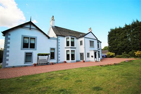 House Dullatur House Scottish Country Mansion House 6 Bedroom