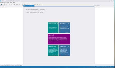 home designer pro getting started llblgenprov5 hometab1screenshot