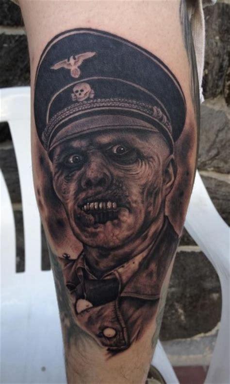 tatuaje de un zombie tatuajes de zombies