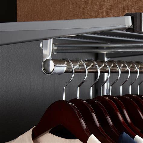 Wardrobe Rod - closet rods elfa closet rods the container store