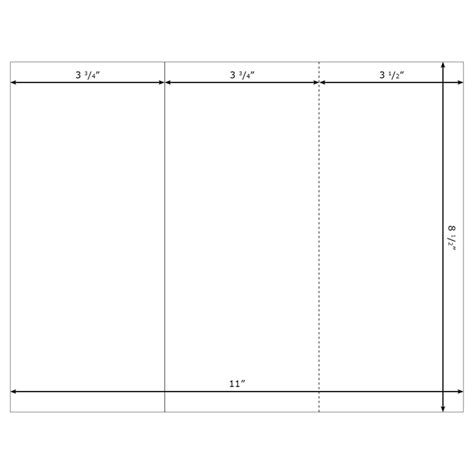 trifold templates doc 630445 blank tri fold brochure template for