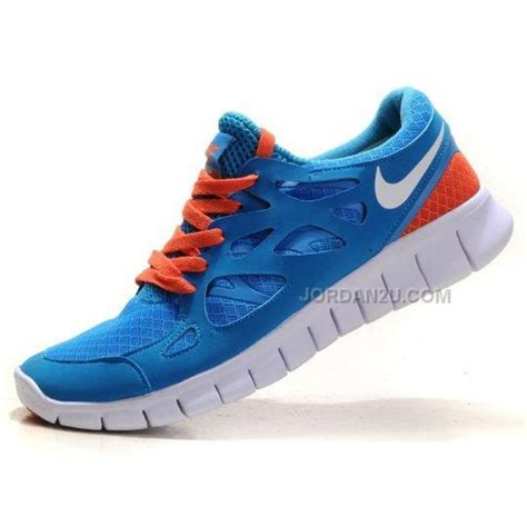 nike running shoes sale womens nike free run 2 2 0 womens running shoes blue orange on
