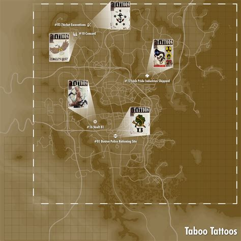eagle tattoo location fallout 4 image fo4 map taboo png fallout wiki fandom powered