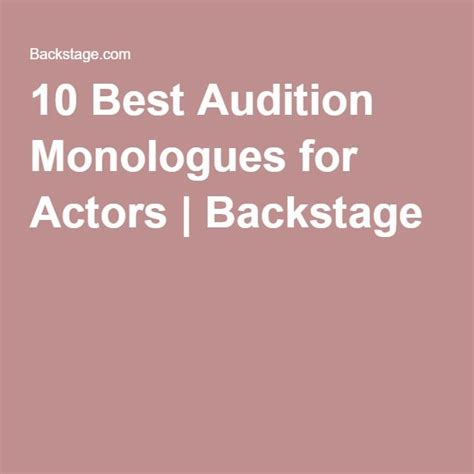 best monologues 25 best ideas about monologues on read