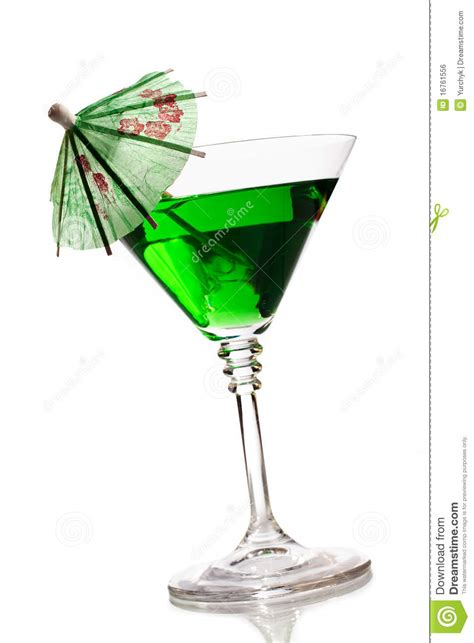 martini glass with umbrella cocktail with umbrella royalty free stock image image