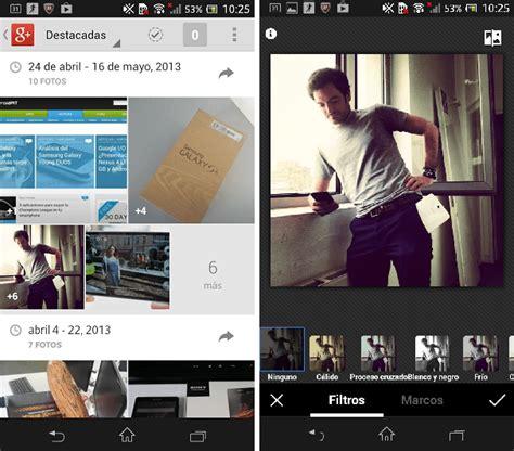 imagenes google plus google actualiza su versi 243 n para android androidpit