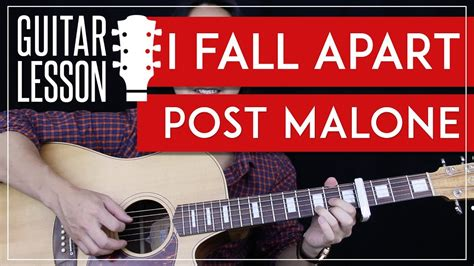 guitar tutorial cover i fall apart guitar tutorial post malone guitar lesson