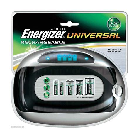 aa battery chargers uk energizer accu lcd display universal battery charger