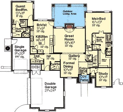 straight floor plan straight from europe 48352fm architectural designs house plans