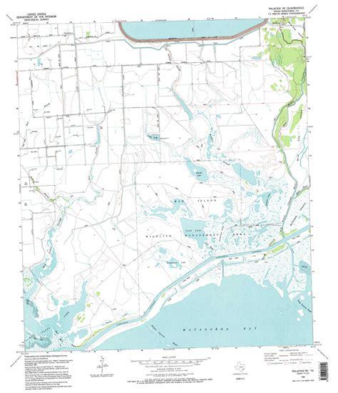 palacios texas map palacios ne topographic map tx usgs topo 28096f1