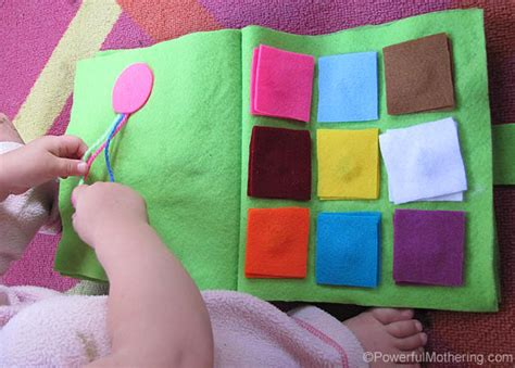 Color Square Matching and Braid the Ribbon No Sew Quiet