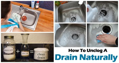 home remedies to unclog a bathtub drain how to unclog a drain naturally surprise result