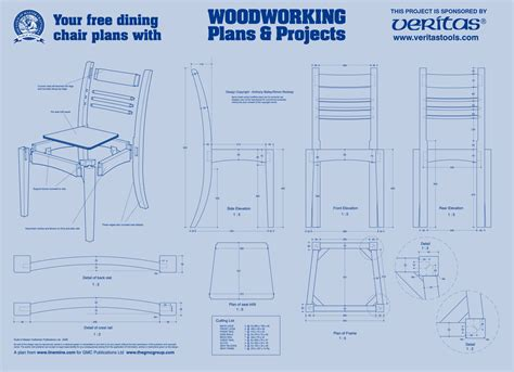 wood working plans shed plans and more dining chair plan