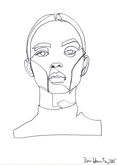 R Drawing Lines by Borisschmitz Gaze 324 Continuous Line Drawing By