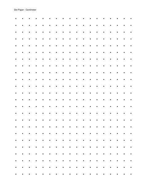 Dotted Paper To Printable | 7 best images of free printable dot grid paper printable