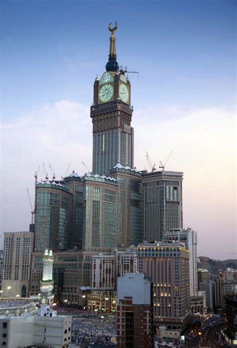 abraj al bait abraj al bait the makkah clock tower menara jam pinterest