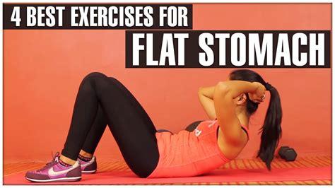exercises  flat stomach tone abdominal youtube