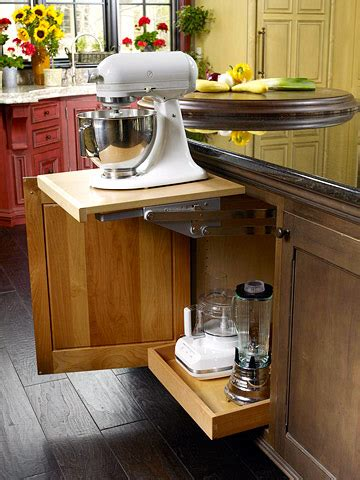 kitchen appliance storage ideas modern furniture kitchen storage ideas 2011