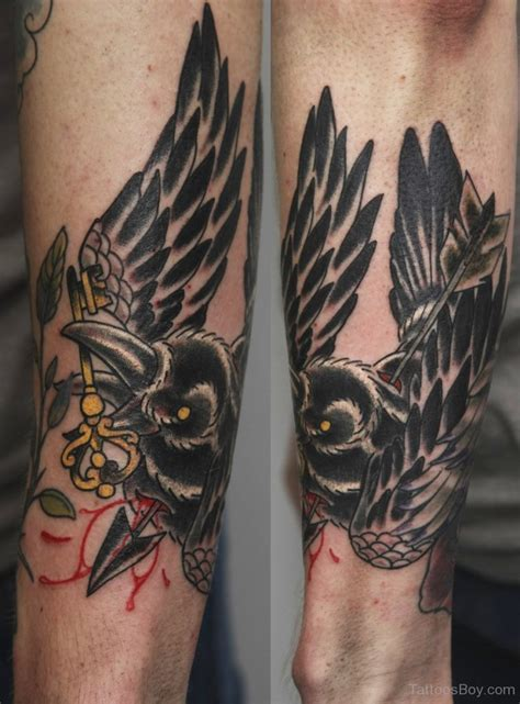 the crow tattoo tattoos designs pictures