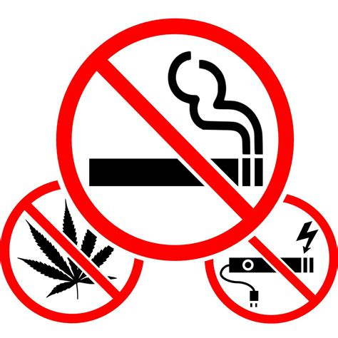 no smoking sign weed free printables