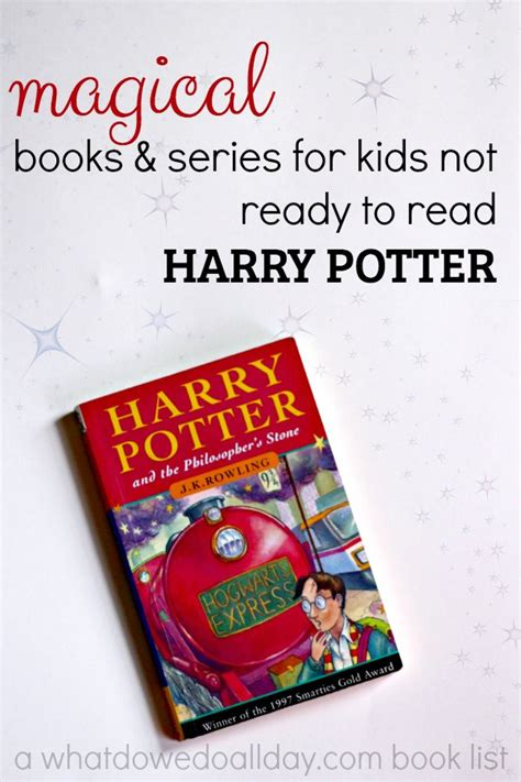age books 12 books for not ready for harry potter
