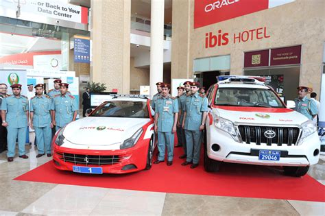 Connected Cars Uae Uae Gets Patrol Car Packed With