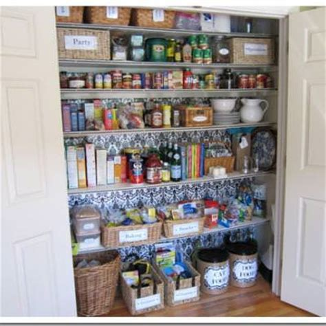 Turning A Closet Into A Pantry by How To Turn A Closet Into A Pantry Closet Tip Junkie