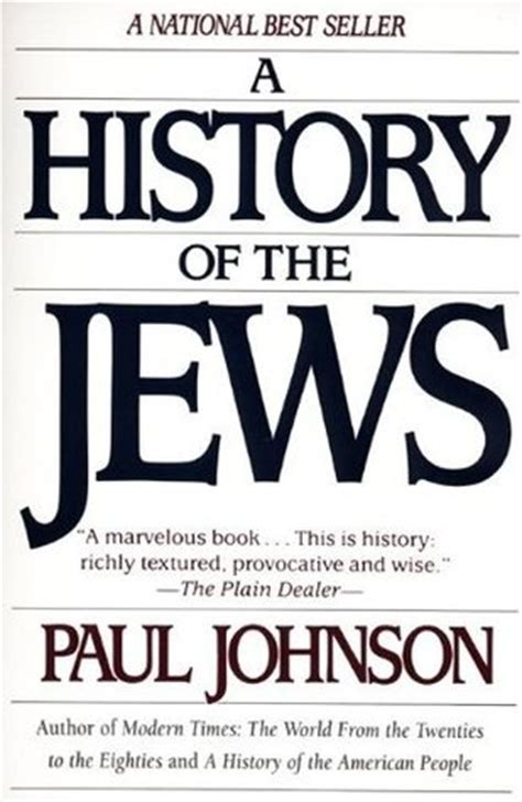a history of the jews by paul johnson reviews