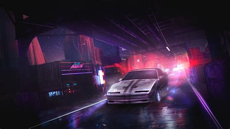 Car Lights Wallpaper Wallpaper Racing Car Club Neon Lights Hd