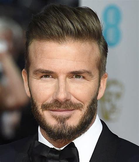 david beckham hairstyles and beard picture of david beckham slick back undercut hair short
