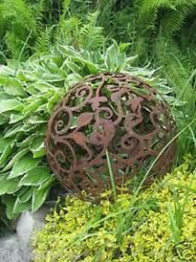 Garten Deko Kugel Rost by 17 Beste Idee 235 N Rost Deko Garten Op